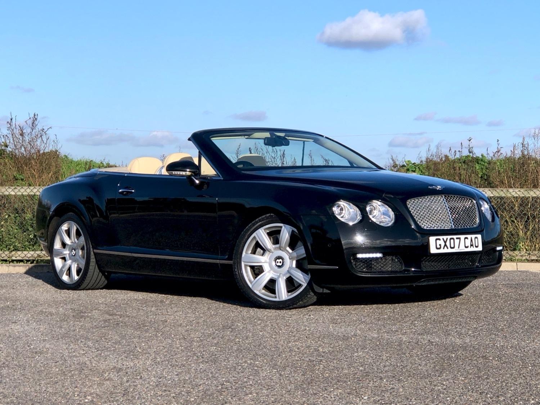 2007 Bentley Continental 6.0 GTC (07 reg)